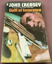 John Creasey - Guilt of Innocence - 1968 Hodder Edition - Vintage Paperback