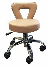 Brand New Spa Pedicure Chair Stool Hazel Brown Cappuccino Color Premium Quality
