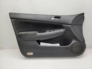 Door Panel Driver Front Honda Accord Sedan 4 Door Black 2003 2004 05 06 07 3416