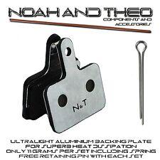 Shimano BR M315 M355 M375 M395 M415 M416 Aluminium Semi Metallic Disc Brake Pads