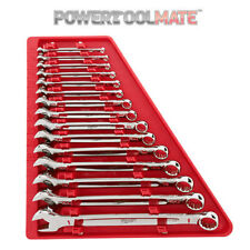 Milwaukee 15 Piece Imperial Combination Spanner Set 48229415