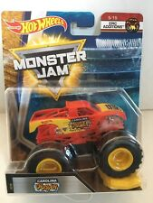 HOT WHEELS MONSTER JAM CAROLINA CRUSHER OFF ROAD TRUCK 5/15 EPIC ADDITIONS FLW78