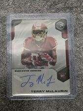 2019 ELEMENTS ROOKIE /99 AUTO TERRY MCLAURIN REDSKINS