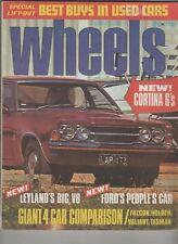 Wheels 1972 Jun P76 Ford Fairlane ZF Falcon XA Holden HQ Cotina TC Alfa Romeo 16