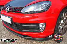 EZ-LIP VW GOLF VI 6 Spoiler Spoilerlippe Lippe Frontspoiler Frontlippe TUNING