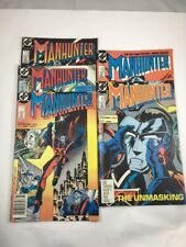MANHUNTER 1-5 DC Comics Lot JOHN OSTRANDER KIM YALE RICE KEITH 1988