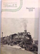Canadian Rail Magazine Half The Fun December 1966 100517NONRH2