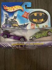 2003 Hot Wheels DC Comics BATMAN vs The Riddler  2 Vehicle Pack