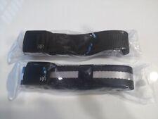 2 Men's Plastic Cam Buckle Nylon Canvas Tactical Waistband Webbing Military Belt