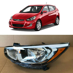 Headlight Replacement for 2015 2016 2017 Hyundai Accent Driver Left 92101-1R710