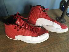 Nike Air Michael Jordan Retro 12 XII Gym Red White 100% Authentic size 10 $285