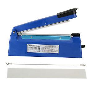 Heat Sealer 200/300MM Electric Impulse Plastic Poly Bag Hand Sealing Machine