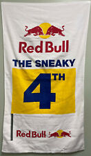 """Rare - Red Bull Towel - The Sneaky 4th Golf Hole - 24""""x42"""" Velour Towel"""