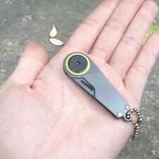 Mini Tactical Pocket Folding Knife Survival Portable Camping EDC Key Chain Tool
