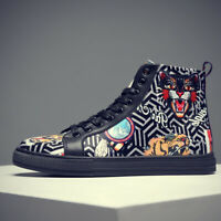 Men's High Quality Fashion Shoes Animal Board Shoes Sandals Hip Hop High Top
