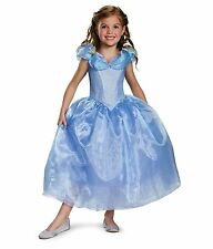 Disguise Cinderella Movie Deluxe Blue Dress Costume, Small (4-6x)