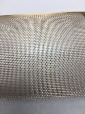 "Brass Woven Wire Mesh/Screen 48""x12"" 16x16"