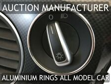 VW BEETLE 2011 Polished Aluminum Ring for light switch