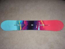 New 2018 Burton Womens Feel Good Camber Snowboard 152 cm