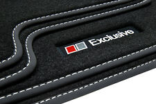 Exclusive Line Fußmatten für Audi A4 8E B6 B7 Avant Kombi S-Line Bj.2000-2008