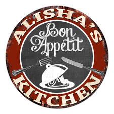Cpbk-0502 Alisha'S Kitchen Bon Appetit Chic Tin Sign Decor Gift Ideas