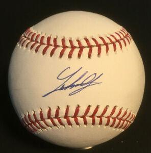 Johnny Cueto Reds Giants signed MLB Baseball auto autograph Steiner COA 5