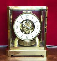 1989 Swiss Atmos  LeCoultre Mantel Clock