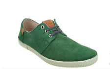 NEW  FLY London Men's Suede Lace Up Shoes - SESH GREEN Size 9 Euro 42
