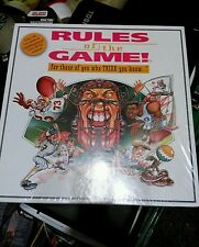 Rules of the Game Board Game .Brand New For those of ypu Think you Know 1995