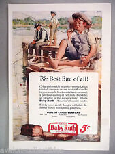 Baby Ruth Candy Bar PRINT AD - 1926 ~~ Chenoweth art, Curtiss