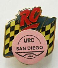 1993 URC SAN DIEGO RC Cola brooch pin Hydroplane Boat racing c3
