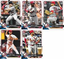 2018 Bowman Paper Cardinals Team Set (Vets, RCs) 5 Cards