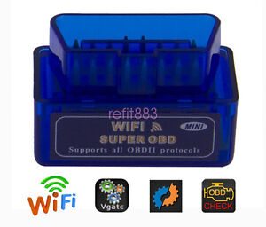WIFI OBD2 ELM327 OBDⅡ Autos Diagnostic Interface Scanner For Android & IOS & PC
