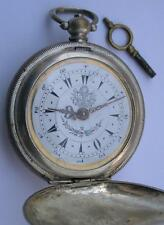 Antique Key Wind Pocket Watch-Systeme Roskopf Made For The Ottoman Empire Market