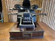 machine a calculer the Accunting & Tabulating - manufactured in England 1910s