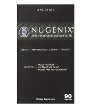 Nugenix Free Testosterone Booster Dietary Supplement - 90 Capsules