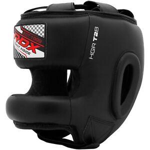 RDX Grill Bar Kopfschutz Boxen Helm MMA Kick Gesicht Kick Beschützen BL AT