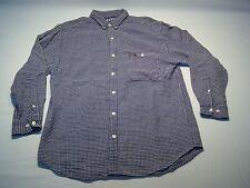 H.I.S Casual Button Down Dress Shirt Men's Size L