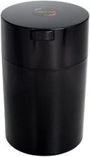 Coffeevac 1 lb The Ultimate Vacuum Sealed Coffee Container Black Cap & Body New