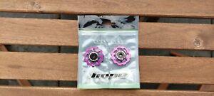 2x Hope Jockey Wheels 11T Purple