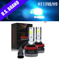 8000K Ice Blue Led Headlight Kit H11 H8 H9 800W 120000Lm Plug& Play Cree 2 Bulbs (Fits: Subaru)