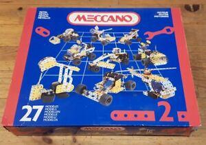 MECCANO Boîte Moteur 2 complète  - Années 90 -