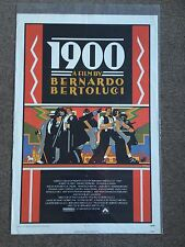 1900 Movie Poster Bernardo Bertolucci Robert De Niro Gerard Depardieu 1SH