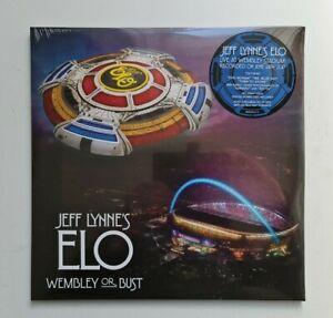 Jeff Lynne's ELO - Wembley Or Bust LIVE - Triple 180g Vinyl 3 x LP NEW & SEALED