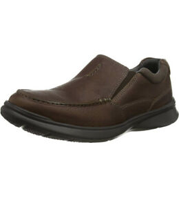 Clarks Mens Casual Shoes - Cotrell Free Tobacco Leather U.K. 8 G.  Eu 42