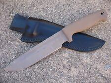 Busse Combat INFI Dog Soldier 8 Knife Custom Molded Leather Sheath BLACK