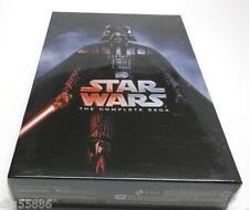 Star Wars: The Complete Saga DVD (I,II,III,IV, V, VI, 12-Disc Box Set 1-6) #BV