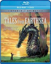 TALES FROM EARTHSEA New Sealed Blu-ray + DVD Studio Ghibli