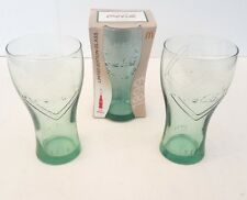 Coca-Cola Glasses 125 Years McDonalds x 3 FREE Shipping