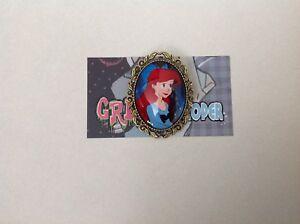Ariel the little mermaid brooch pin rockabilly pin up girl retro Disney princess